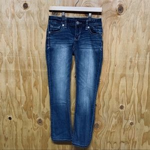 Express Boot Stella Low Rise Denim Jeans 0R